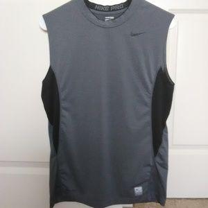 Nike Pro Men's Fitted Dri-Fit Sleeveless Shirt